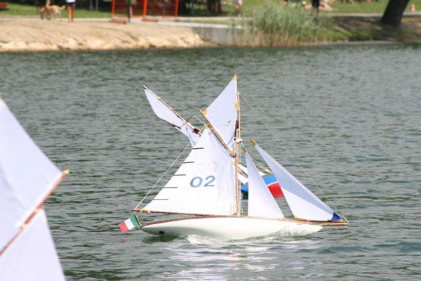 Prima regata Tuiga sul lago di Endine